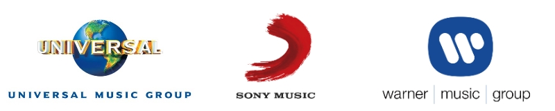 Universal Music Group - Sony Music Entertainment - Warner Music Group